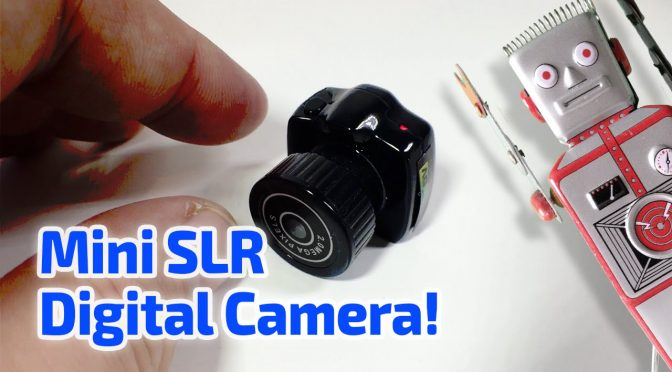 MINI SLR DIGITAL CAMERA WORKING MINIATURE by Guinness
