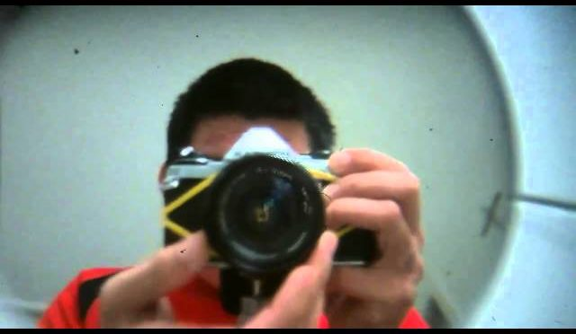 Making a digital back for an old SLR by Chung Dha
