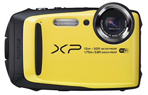 Fujifilm FinePix XP90 Yellow Waterproof digital camera (Yellow)
