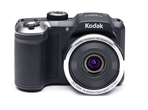 Kodak PIXPRO Astro Zoom AZ251 16 MP Digital Camera with 25X Optical Zoom and 3″ LCD Screen (Black)