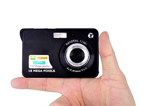 Fitiger 2.7 inch TFT LCD HD Mini Digital Camera