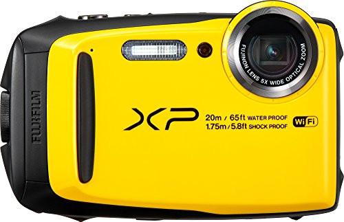 Fujifilm FinePix XP120 Waterproof Digital Camera – Yellow